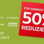 Top Marken bis zu 50% reduziert bei Otto