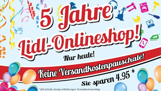 5 Jahre Lidl Online-Shop