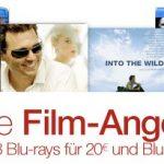 5 Tage Film-Angebote: DVDs für 5€, 3 Blu-rays für 20€, einzelne Blu-rays ab 7,97€ bei Amazon