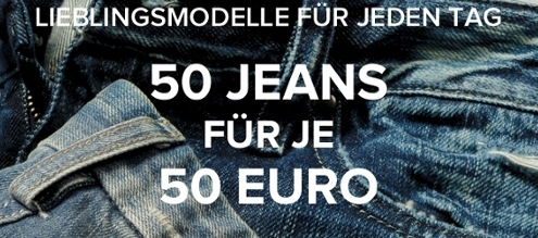 50 Jeans für je 50€ bei Dress-for-less