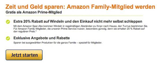 Amazon Prime kostenlos erhalten