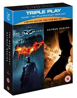 Batman Begins + The Dark Knight auf Blu-ray