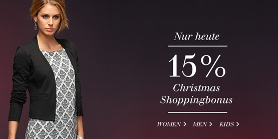 Christmas Shopping bei Tom Tailor