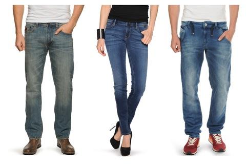 Damen und Herren Jeans bei Dress-for-less