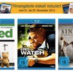 Filme auf DVD und Blu-ray eiskalt reduziert bei Amazon