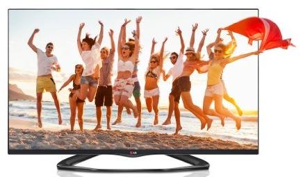 LG 32LA6608 - 32 Zoll 3D LED-Backlight-Fernseher