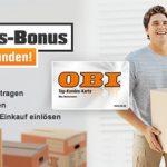 10€ OBI Gutschein oder 10% Rabatt für ADAC Mitglieder