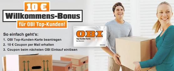 OBI Gutschein und ADAC Rabatt