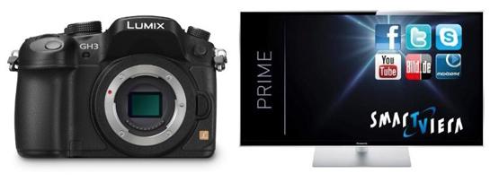 Panasonic Cashback auf Fernseher und Kameras
