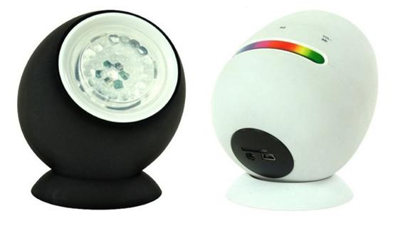 Ranex Mini Moving Colours Bluetooth Lautsprecher mit LED Farbwechsel