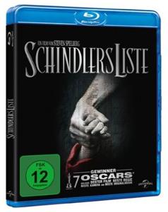Schindlers Liste auf Blu-ray