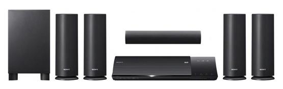 Sony BDV-N590 5.1 Lautsprechersystem mit 3D Blu-ray Player