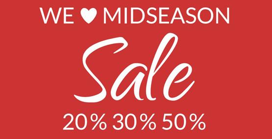 Tom Tailor Mid Season Sale mit Rabetten bis zu 50 Prozent