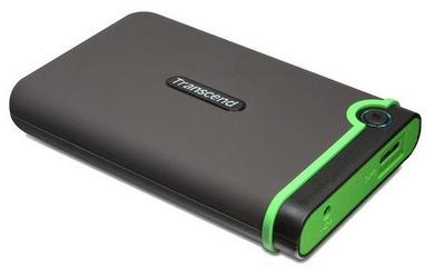 Transcend StoreJet 25M3 1 Terabyte USB 3.0 Festplatte