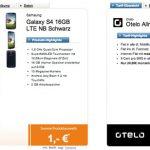Vodafone Allnet-Flat mit 500MB Datenvolumen und diverse Smartphones (Galaxy S4, HTC One, iPhone 5, …) für 24,99€ moantlich