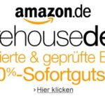 10% Sofort-Rabatt auf alle Amazon Warehousedeals