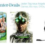Splinter Cell Blacklist, Tritton Trigger Headset, die Siedler 7 und mehr bei den Amazon Winter Deals am Tag 5