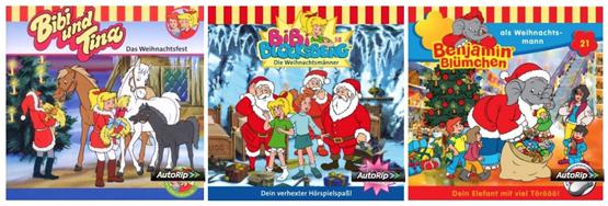 Benjamin Blümchen und Bibi Blocksberg Audio-CDs