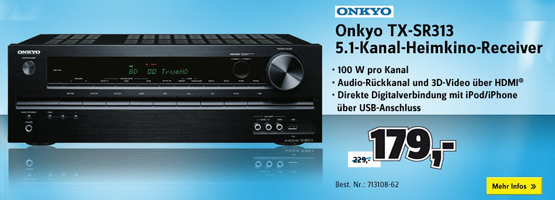 Onkyo TX-SR313