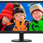 Philips 243V5LHAB – 23,6 Zoll LED-Monitor für 119,90€ inkl. Versand