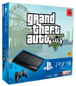 PlayStation 3 Konsole mit GTA 5