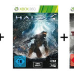 Xbox 360 mit 250GB + Halo 4 + Tomb Raider für 169,99€ inkl. Versand