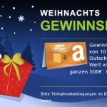 Weihnachts-Gewinnspiel 2013: dieses Jahr zahlen wir die Geschenke!