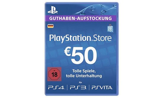 Sony Playstation Network Guthaben Sparen Deal