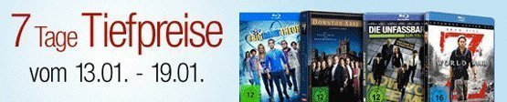 Amazon Blu-ray Tiefpreise