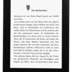 Kindle Paperwhite (2013) für 99€ bei Amazon