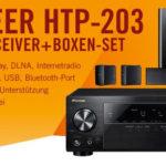 Pioneer HTP-203 5.1 AV-Receiver + Lautsprecher für 333,00€ inkl. Versand