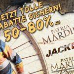 50% bis 80% Rabatt auf Jack&Jones und Patria Mardini bei den Hoodboyz