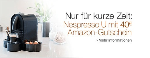 AMAZON NESPRESSO MASCHINE GUTSCHEIN