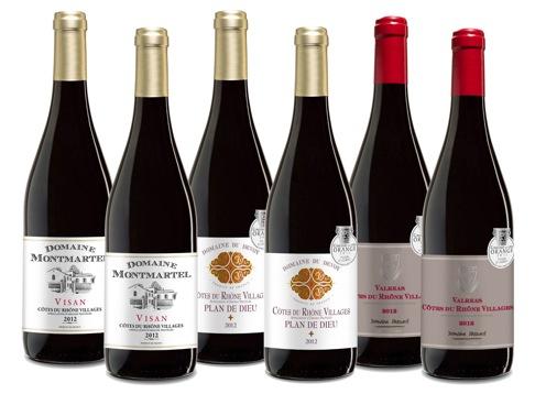 Wein Probierpaket Côtes du Rhône