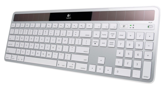 Logitech K750 Solar Mac Tastatur