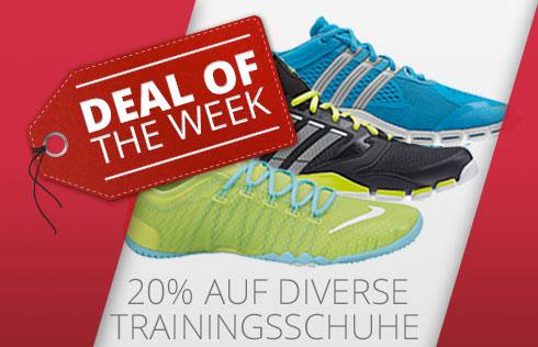 20% Zusatzrabatt auf Nike und Adidas Sportschuhe