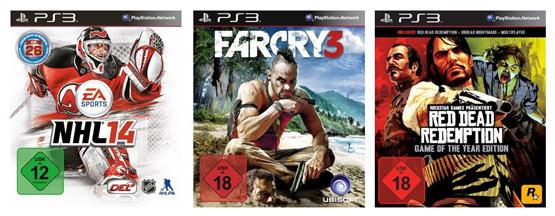 3 Games für 55 Euro