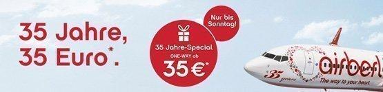 Air Berlin 35 Jahre