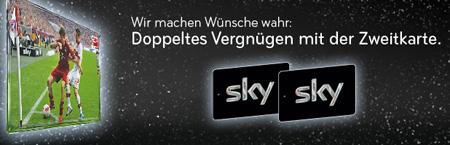 Sky Zweitkarte