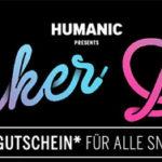 Humanic: Sneaker Gutschein im Wert von 10€