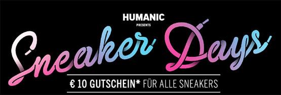 Humanic Sneaker Gutschein