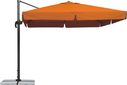 Schneider Sonnenschirm RHODOS 300x300cm, quadratisch, terracotta für 190,95€