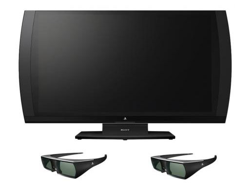 Sony Computer Entertainment 3D Bildschirm + 2x 3D Brillen
