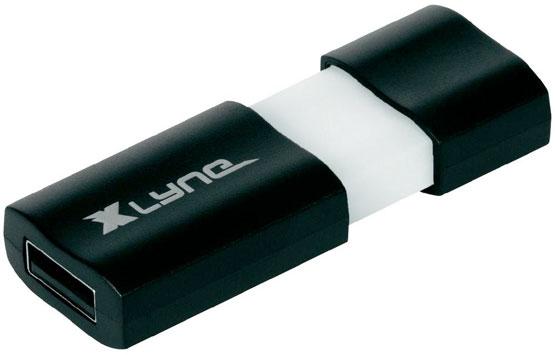 USB 3.0-Stick 128 GB Xlyne Wave Schwarz/Weiß 7912800