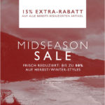 Frontlineshop: 15% Extrarabatt auf alle bereits reduzierten Artikel im Mid-Season-Sale