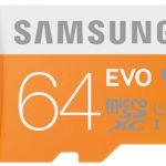 Samsung EVO microSD Karte (MB-SP64D-EU) 64GB für 18,00€ inkl. Versand