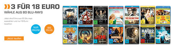 angebot filme saturn bluray deal günstig