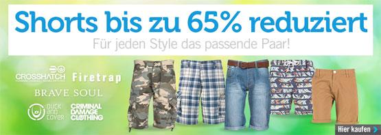 Shorts reduziert