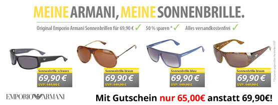 armani emporio sonnenbrillen reduziert günstig angebot