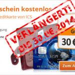 Dauerhaft gebührenfreie Kreditkarte + 30€ Amazon-Gutschein